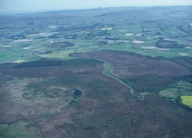 aerial showing lochan