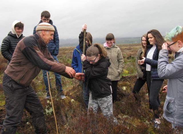 Flanders UTM Measuring bog depth