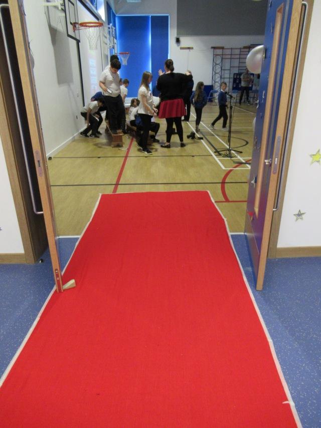 Blackridge primary red carpet