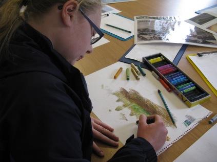 Developing art ideas